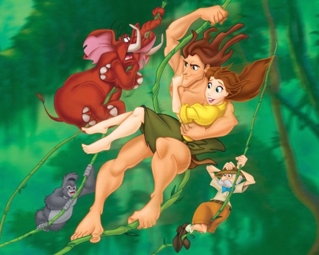 Тарзан с рокко безплатно 10 фотография