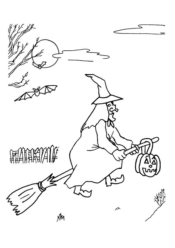 Pin La Befana Coloring Sheet Index Of on Pinterest