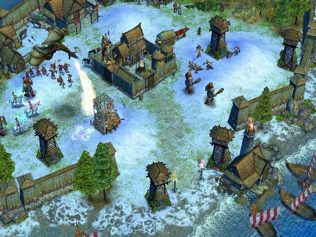 Скриншот из игры Age of Mythology под номером 14. p strong Номер