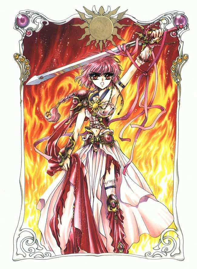 Magic knight rayearth grafica