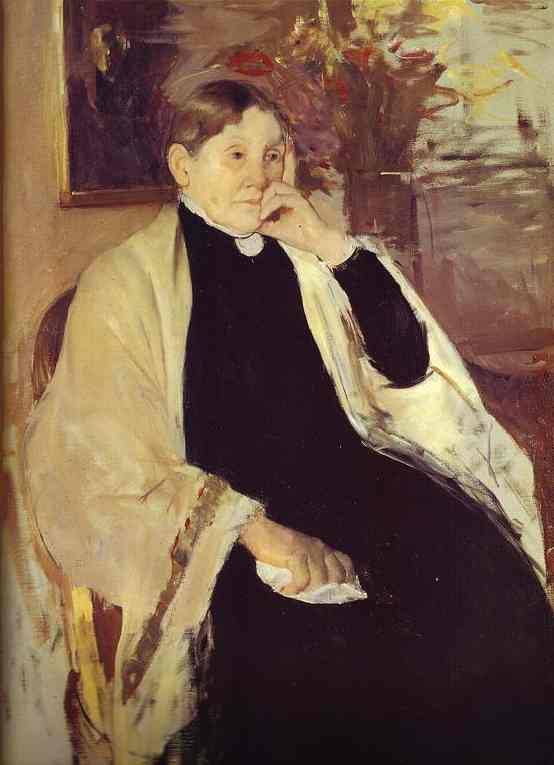 Cassatt Mary Oil Painting