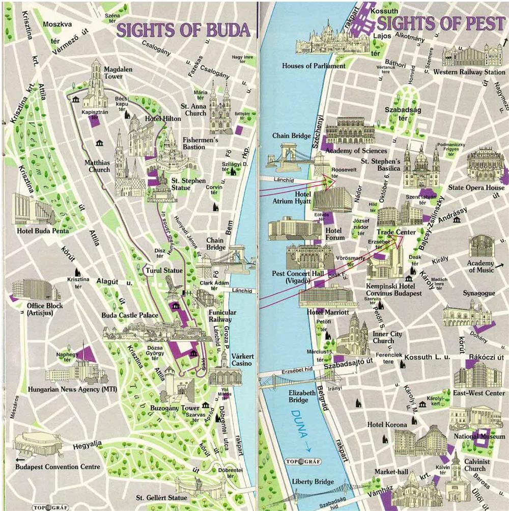 Prenotare alberghi in budapest - Mappa di ungheria ed europa ...