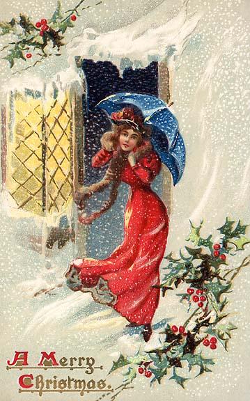 Immagini Vittoriane Natalizie.Cartoline Antiche Natale